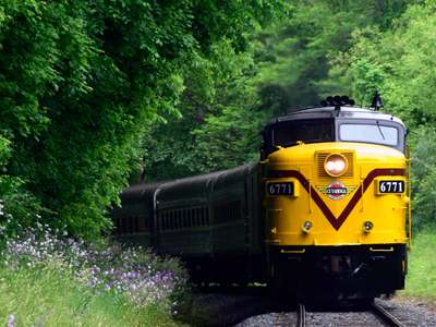 CVSR:  Cuyahoga Valley Scenic Railroad National Park Scenic Day Pass and Bike Aboard!