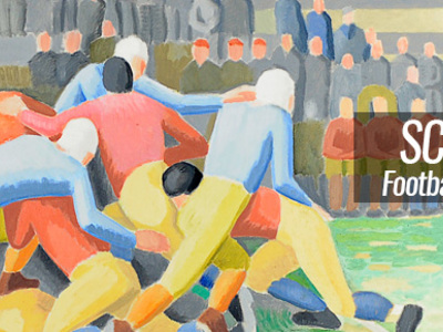 Scrimmage: Football in American Art from the Civil War to the Present