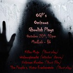 Event photo for: Friday Night AfterWords presents Ominous Ghoulish Plays  featuring Laura Spires