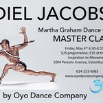 Event photo for: Graham Technique Master Class with Abdiel Jacobsen