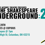 Event photo for: Actors' Theatre presents The Shakespeare Underground: 24