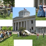 Civil War Encampment and the Repose of Lincoln