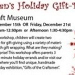 Event photo for: Children's Holiday Gift-Making Workshop