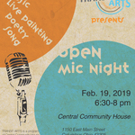 Event photo for: TRANSIT ARTS Open Mic