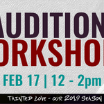 Event photo for: Actors' Theatre GLOBE SCHOOL: Audition Your Audition Before Your Audition!
