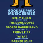 Event photo for: George Barrie Band * Goodale Park Music Series