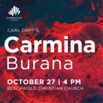 Event photo for: Carmina Burana