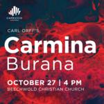 Event photo for: Carmina Burana