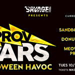 Event photo for: Improv Wars: Halloween Havoc