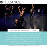 Event photo for: Virtual OhioDance Festival