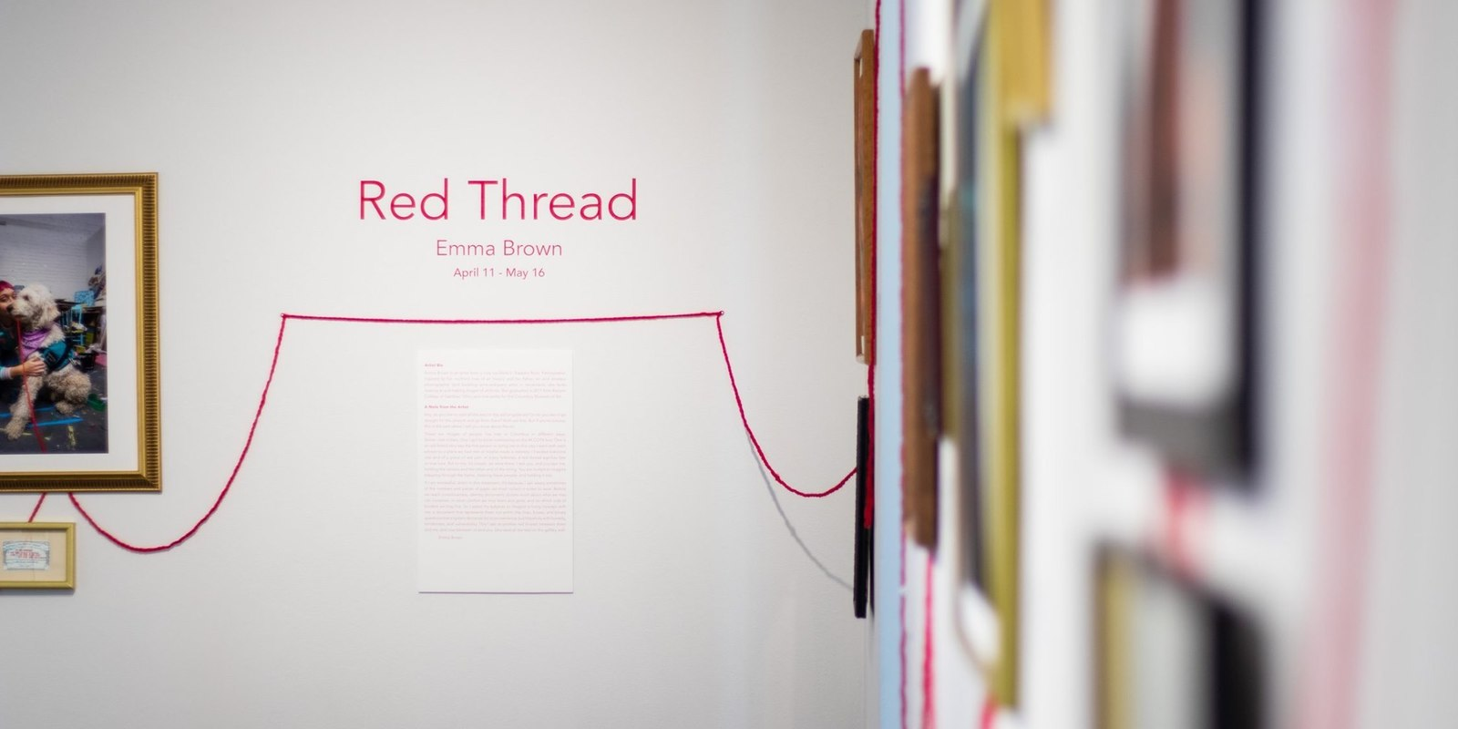 Virtual Opening of Red Thread with Emma Brown