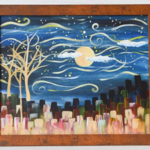"Studio 614: ""Starry Night"" Landscape Painting"
