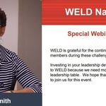 2020 WELD NATIONAL AUGUST SPECIAL WEBINAR- GINA SMITH