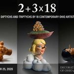 2 + 3 x 18: Diptychs and Triptychs by 18 Contemporary Ohio Artists