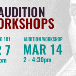 Event photo for: ONLINE: Audition Workshop