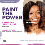 Event photo for: Paint the Power  at the MPACC Box Park w/ featured artist Shawntel