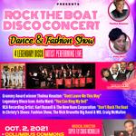 Rock The Boat Disco Concert & Dance