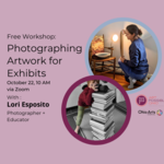 Event photo for: Photographing Artwork for Exhibits