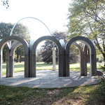 Small Park with Arches
