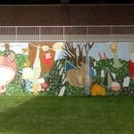 Abstract Mural on King James Way