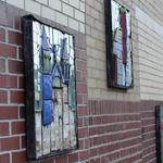 Ceramic Mirrored Murals