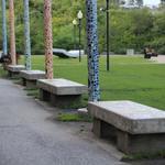 Mosaic Benches