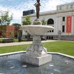 Peter Pan Fountain Sculpture