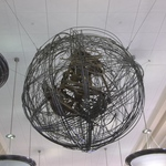 Globe with Gaia