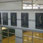 Rec Center Relief Sculptures