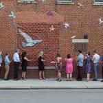 The Messenger Wall