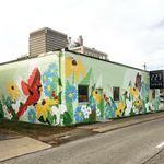 Spring St. Mural