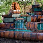 The Book Fountain