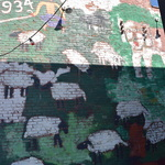 Sheep and Shepard (934 Outdoor Gallery- Permanent Collection)