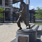 LARRY DOBY STATUE