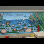 """Fenlon Square """"Lily Pond"""" Mural"""