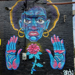 """A Hero in Darkness"" (934 Outdoor Gallery)"