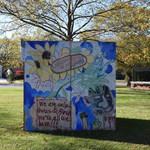 #ArtUnitesCbus at the MAC East Cube