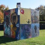 #ArtUnitesCbus at King Arts Center, Mt. Vernon Cube