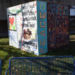 #ArtUnitesCbus at Ohio History Connection, cube 2