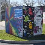 #ArtUnitesCbus at Ohio History Connection, cube 5
