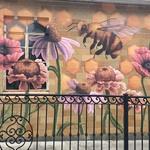 Honey Bees & Flowers
