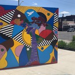 All People Arts mural cube