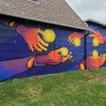 Sharing Inspiration by Lucie Shearer and ARtsway Campers (934 Outdoor Gallery)
