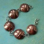 Ann Annie: Foldform circle link bracelet