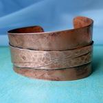 Ann Annie: Foldform copper cuff