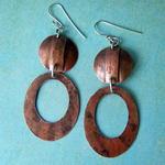 Ann Annie: Fold form geometric earrings