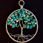 Ann Annie: Tree of Life, Turquoise