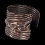 Ann Annie: Foldform copper cuff JC2012