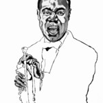 """Fields Of Art: Louis \""""Satchmo\"""" Armstrong"""