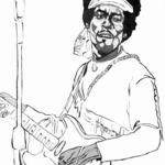 """Fields Of Art: Jimi Hendrix \""""Hey Joe\"""""""